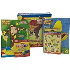 easter fun 1 curious george monkey color coloring crayons favor