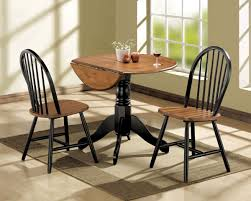 Dining Sets For Small Spaces by Amazon Com Acme 00878 3 Piece Mason Dining Set Cherry And Black