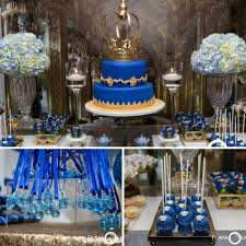 royal blue and gold baby shower royal blue and gold prince shower baby shower ideas themes