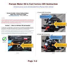 parsun 20hp portable 4 stroke outboard motor manual start 20