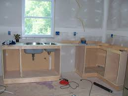 how to build kitchen cabinets decor tips how to build kitchen cabinets with kitchen sink