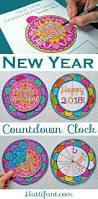 new year countdown clock incl mandala edition hattifant