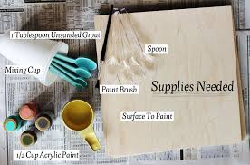 is paint any how to mix chalkboard paint in any color a beautiful mess