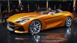 bmw supercar concept bmw z4 concept turns heads in frankfurt autotrader ca