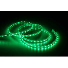 time 19 6 led green rope light 240 count walmart