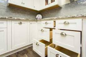 36 inch kitchen base cabinets with drawers blind corner base left or right snow white inset shaker blind 36 42 inch