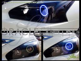 nissan altima 2015 blue oracle 13 16 nissan altima led halo rings headlights bulbs