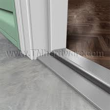 Aluminum Door Thresholds Exterior Residential Aluminum Fixed Threshold Outswing With Kerf In Foam