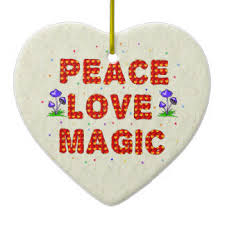 peace magic ornaments keepsake ornaments zazzle