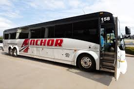 anchor transportation bus photos bus rentals group charters