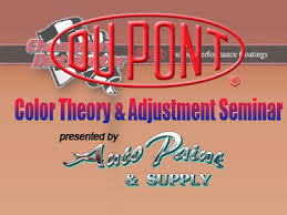 dupont performance coatings color theory u0026 adjustment auto paint