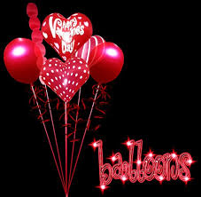 valentines day baloons balloons