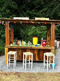 Pallet Garden Decor Outdoor Bar Ideas For Outdoor Decor