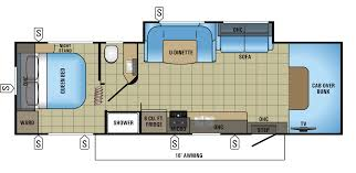 Motorhome Floor Plans Class C by 29 U0027 Jayco Redhawk Class C Rv Rental