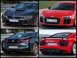 Bmw I8 Next Generation - bmw i8 vs audi r8 drag race