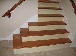 Installing Laminate Flooring On Stairs Hardwood Laminate Flooring For Stairs With Natural Finish
