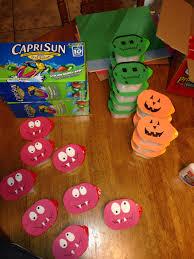 casen u0027s preschool snacks halloween individual pringles with