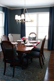 Dark Blue Accent Wall by Dining Room Navy Blue Accent Wall 2017 Dining Room 2017 Dining