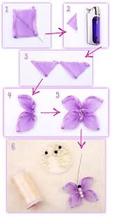 how to make ribbon butterfly handmade ribbon butterfly