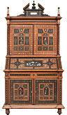 bureau à gradin bureau à gradin à cartonniers epoque louis philippe antiquités