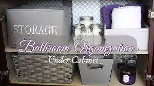 Bathroom Sink Organizer by Under Bathroom Sink Organization Diy Youtube