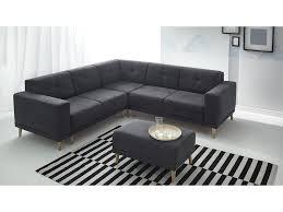 canapé et pouf assorti canapé panoramique convertible avec pouf l260x260x82cm