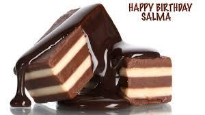 salma chocolate happy birthday youtube