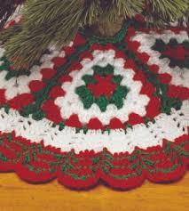 that skirt is 36 in diameter crochet tree skirt