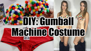 diy gumball machine halloween costume rave inspired youtube