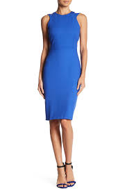 french connection whisper light cutout midi dress nordstrom rack