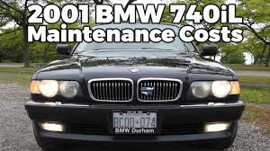 bmw no charge maintenance e38 bmw maintenance costs after 1 year 2001 bmw 740il