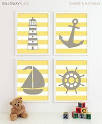 Sailboat Decor For Nursery Nautical Nursery Poster Prints Pirate Theme Navy Ship Print