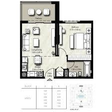 Floor Plan Studio Type Affordable Safi Apartments In Town Square In Dubai Uae U2013element