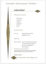 Cv Vorlage Schweiz Word Lebenslauf Sch禺ler Muster Vorlage Und Beispiel