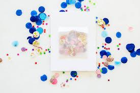 diy confetti pocket greeting cards conrad