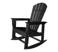 Rocking Chair Outdoor Furniture South Beach Recycled Plastic Adirondack Rocking Chair