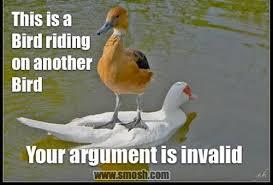 Meme Your Argument Is Invalid - your argument is invalid pics smosh