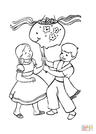 mexican coloring pages christmas in mexico coloring page free