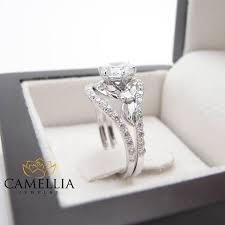 unique engagement rings gold morganite rings moissanite