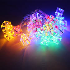 Battery Powered Led Lights Outdoor by Ice Cube Battery Operated Led Christmas String Lights Torchstar
