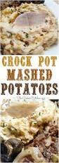 crock pot mashed potatoes slowcookerkitchen com