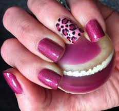 Nail Designs Cheetah Pink Cheetah Print Nails Designs Ideas 20 Photos