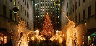 the amazing history of the rockefeller center christmas tree