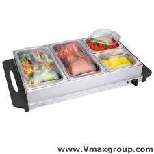 buffet trays warmer sale offer 4 tray stainless steel buffet warmer