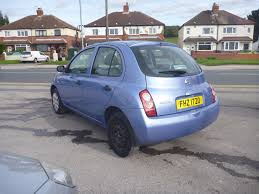 nissan micra 2004 2004 nissan micra 1 2 s 5dr 47130595 rac cars