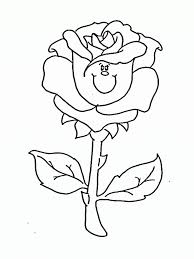 beautiful free printable rose coloring pages 12 for your coloring