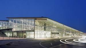 porsche headquarters stuttgart stuttgart airport terminal 3 gmp architekten von gerkan marg