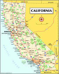 State Map Of California by Berkeley Area Maps U0026 Directions