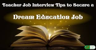 Sample Resume Of A Teacher by Job Interview Tips To Secure A Dream Education Job