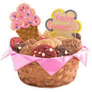 cookie basket cookie baskets l gift basket delivery cookies by design